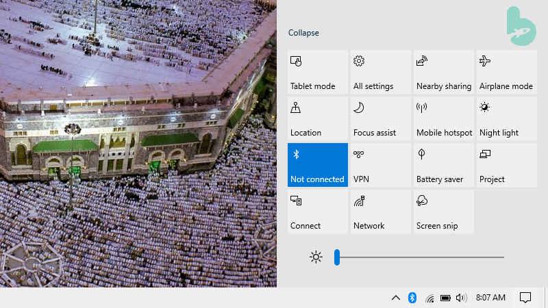 Cara Mengaktifkan Bluetooth di Laptop Windows 10