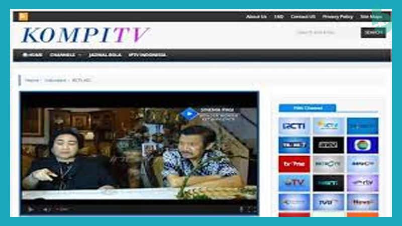 Cara Nonton TV di Laptop dengan Kompi TV