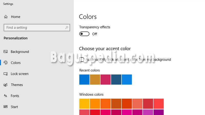 Mengganti-Warna-Start-Windows