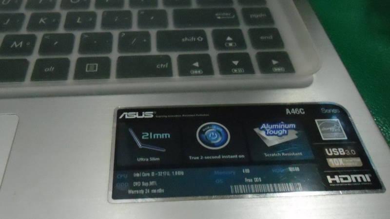 stiker spesifikasi laptop