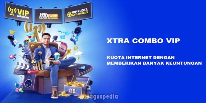 Paket Internet XL Xtra Combo Vip