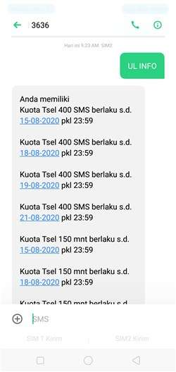 Cara Cek Kuota Telkomsel Via Web