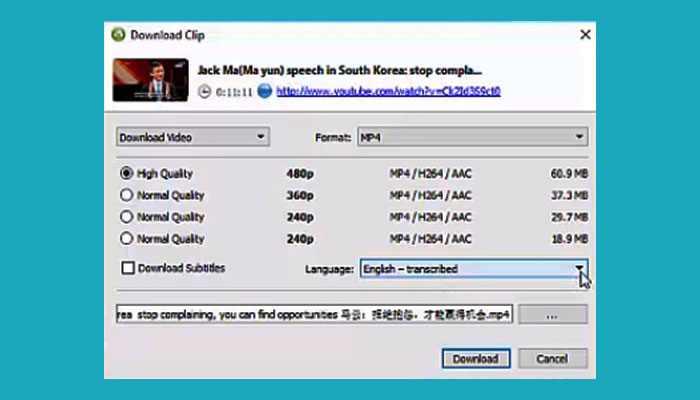 Cara Download Subtitle Cc Dari Youtube