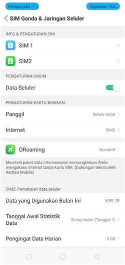 Cara Setting Apn Telkomsel Android