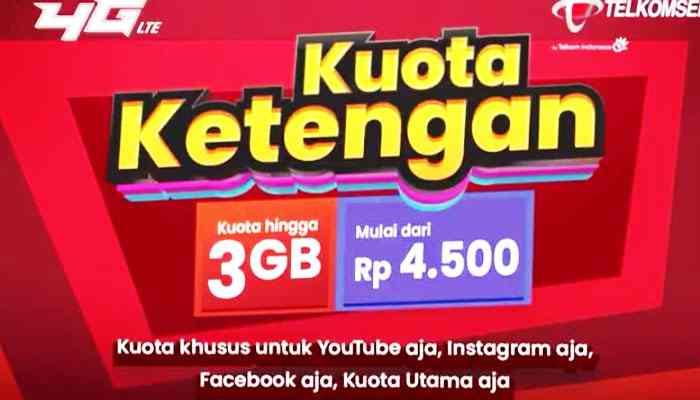 Kuota Ketengan Telkomsel