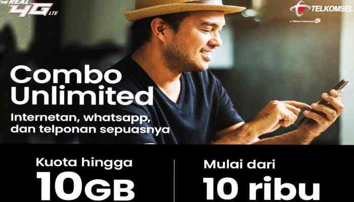 Paket Combo Unlimited Telkomsel