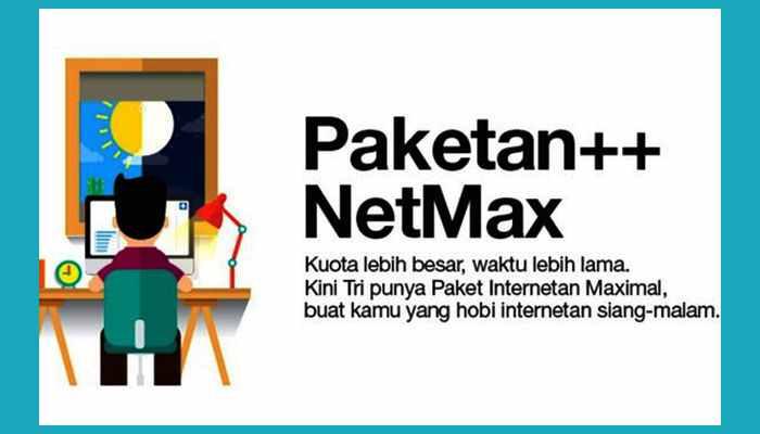 Paket Internet 3 Download Netmax