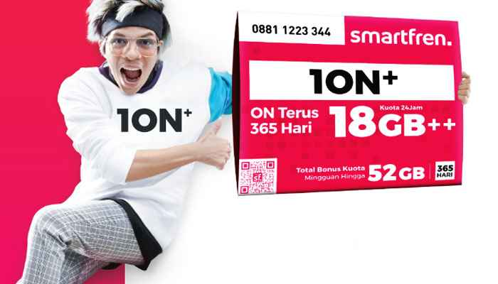 Paket Internet Smartfren 1on