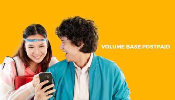 Paket Internet Smartfren Postpaid Volume Based
