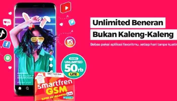 Paket Internet Smartfren Unlimited Pascabayar