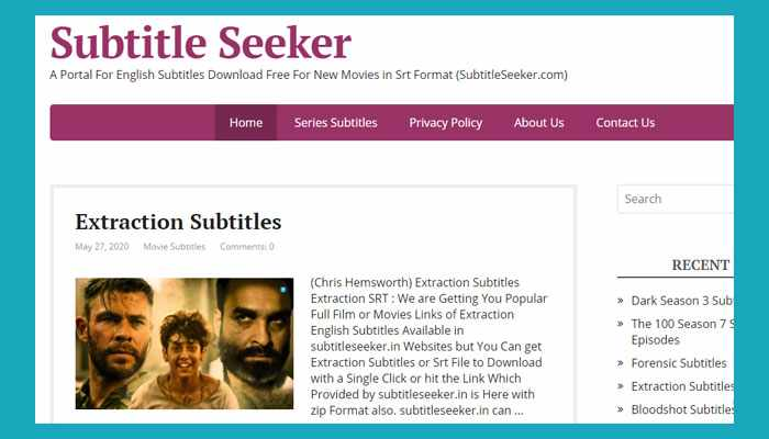 Situs Download Subtitle Indonesia Subtitleseeker