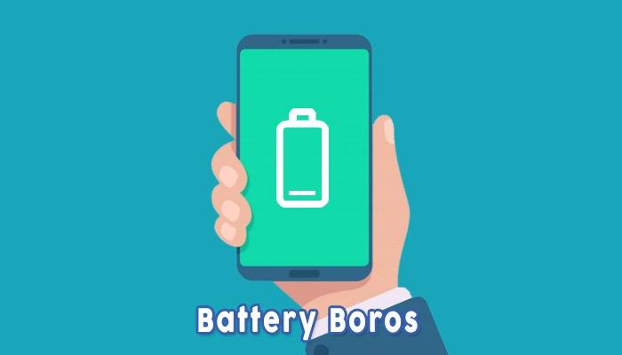 Battery Boros Karena Disadap