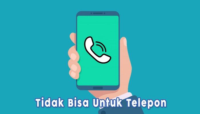 Tidak Bisa Untuk Telepon Karena Disadap