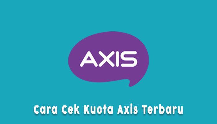 Cara Cek Kuota Axis Online