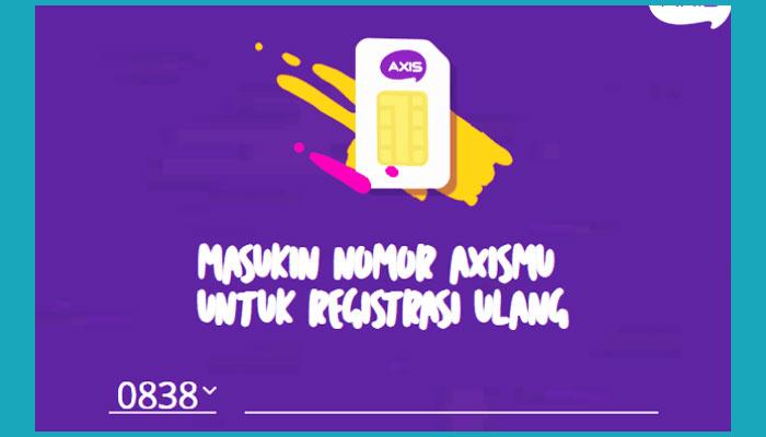 Cara Cek Nomor Axis Sudah Registrasi Atau Belum