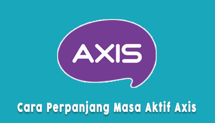 Cara Perpanjang Masa Aktif Axis Dengan Pulsa