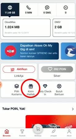Cara Transfer Pulsa Telkomsel Lewat Aplikasi Mytelkomsel 1