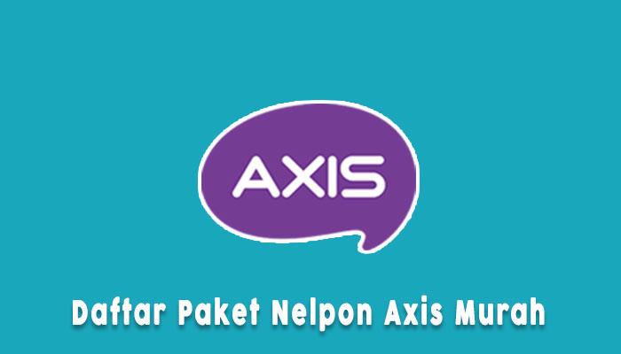 Paket Nelpon Axis Murah