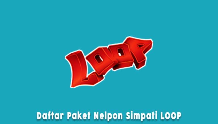 Paket Nelpon Simpati Loop Murah