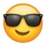 Arti Emoticon Whatsapp Pakai Kacamata Hitam
