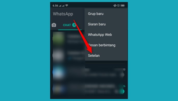 Cara Aktifkan Verifikasi 2 Langkah Whatsapp