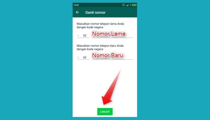 Cara Ganti Nomor Whatsapp Business