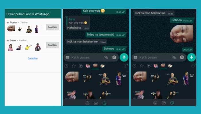 Cara Membuat Sticker Whatsapp Lucu Keren