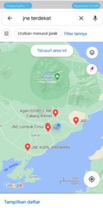 Cara Mencari Lokasi Jne Terdekat 24 Jam