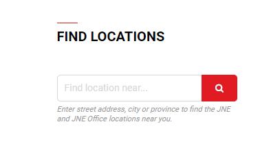Cara Mencari Lokasi Jne Yang Buka