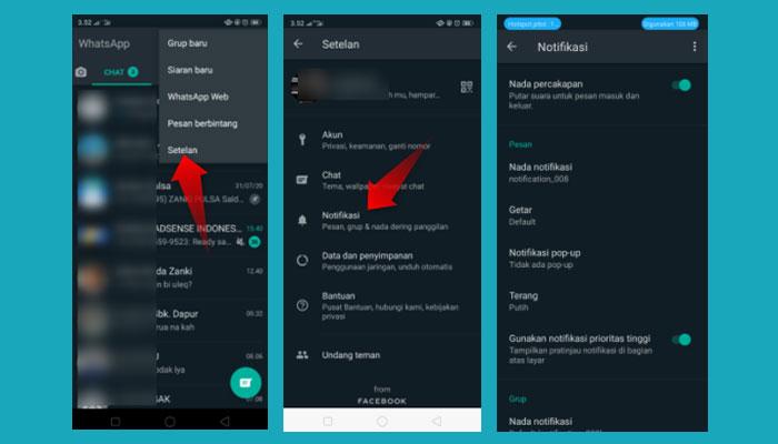 Cara Mengaktifkan Notifikasi Whatsapp Di Layar Kunci