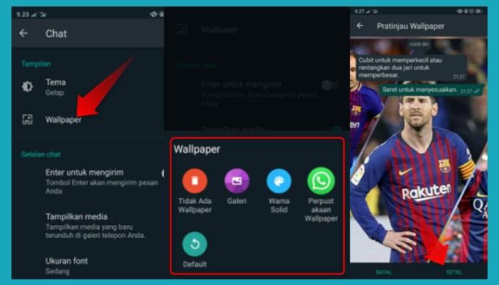 Cara Mengubah Tampilan Beranda Whatsapp