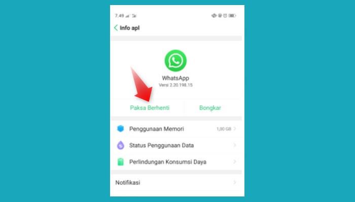 Cara Menonaktifkan Whatsapp Di Hp Vivo