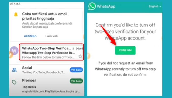 Cara Reset Password Whatsapp