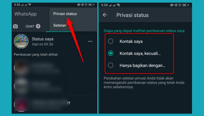 Kenapa Story Whatsapp Tidak Muncul