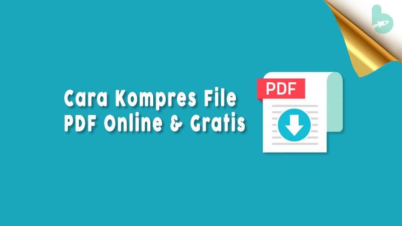 Cara Kompres File Pdf Secara Online
