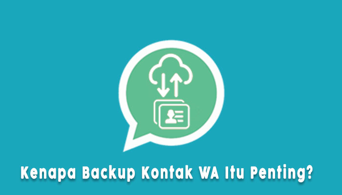 Cara Backup Kontak Whatsapp Di Android