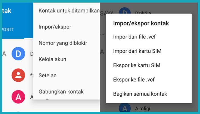 Cara Backup Kontak Whatsapp Ke Email