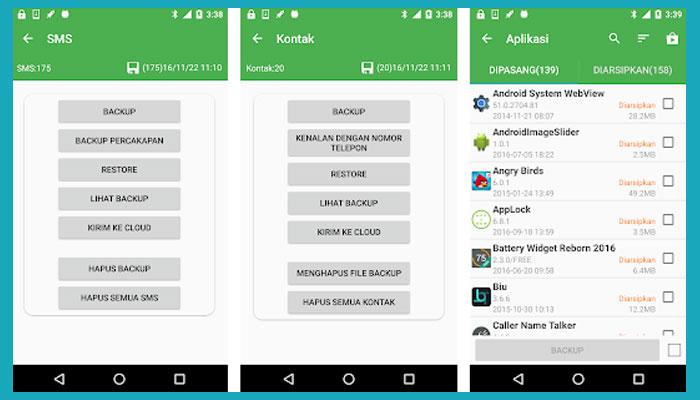 Cara Backup Kontak Whatsapp Ke Hp Lain