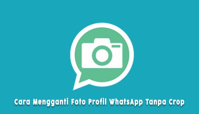 Cara Ganti Foto Profil Whatsapp Tanpa Terpotong