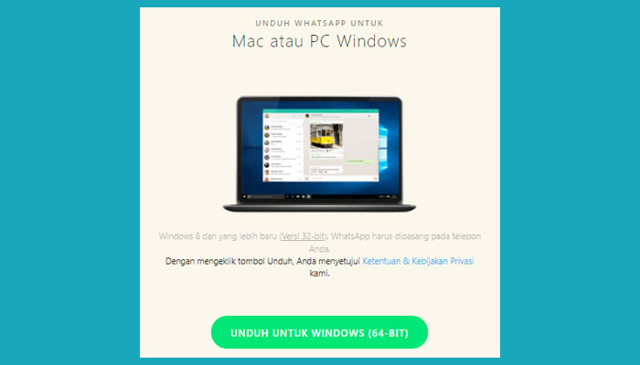Cara Install Whatsapp Di Laptop Windows 8