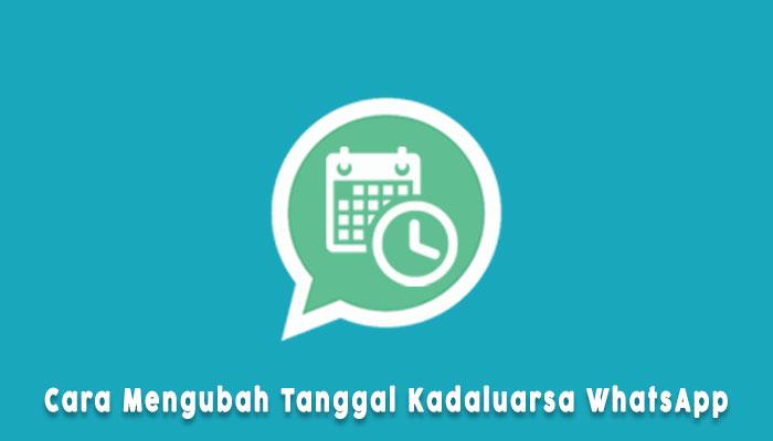 Cara Membuka Aplikasi Whatsapp Yang Kadaluarsa