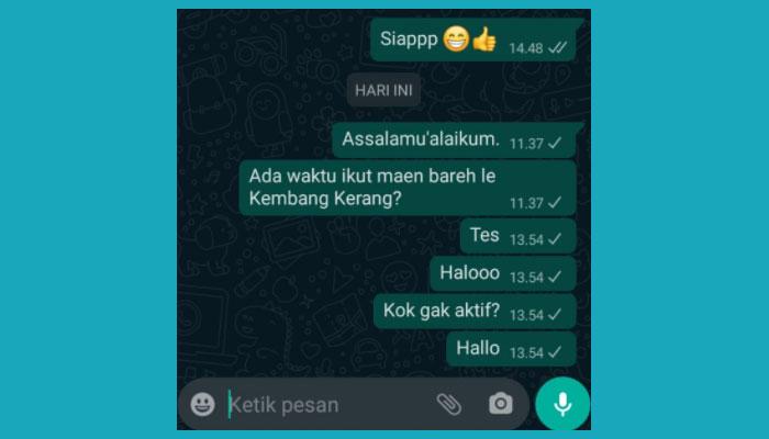 Cara Mengatasi Panggilan Whatsapp Gagal