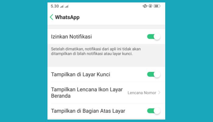 Cara Mengatasi Pesan Whatsapp Telat Masuk