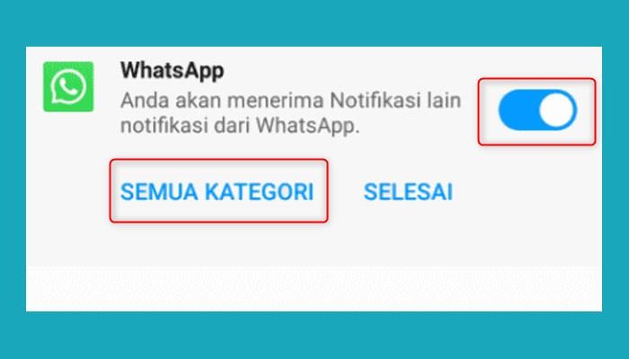 Cara Menyembunyikan Notitikasi Whatsapp Web Di Hp Xiaomi