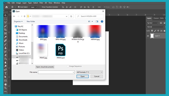 Cara Membuat Ukuran 4r Di Photoshop