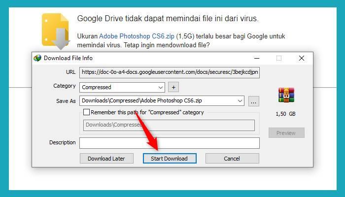 Download Gdrive Denggan Idm Chrome Mozilla