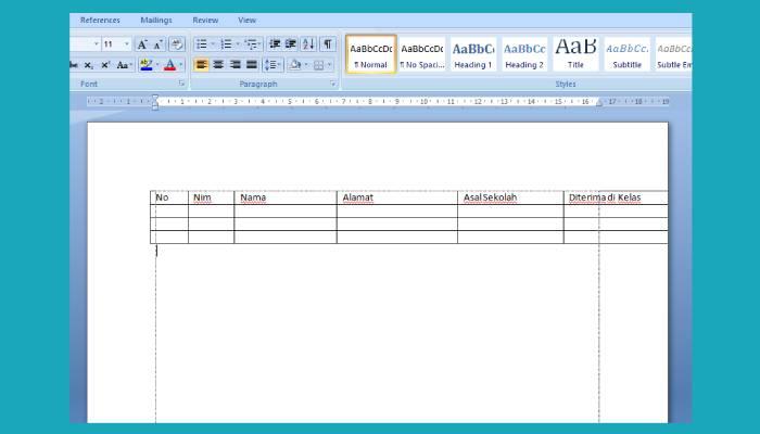 Cara Membuat Tulisan Vertikal Di Word 2013