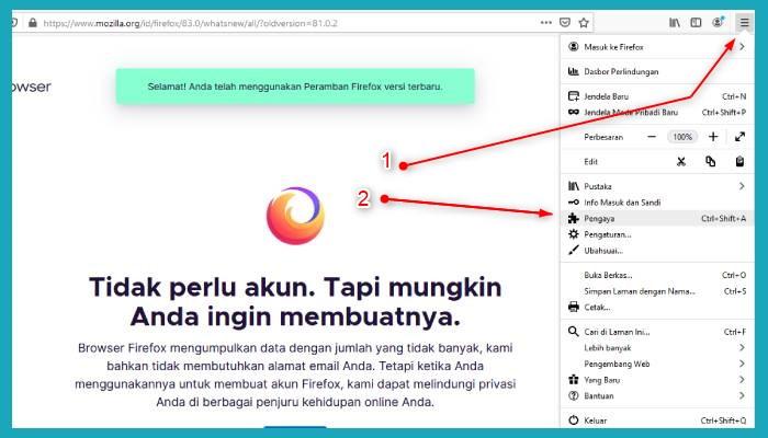 Cara Menampilkan Idm Di Youtube Firefox