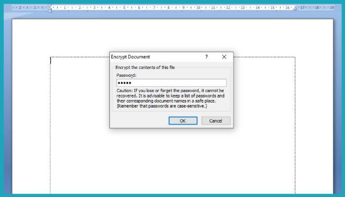 Cara Proteksi File Word