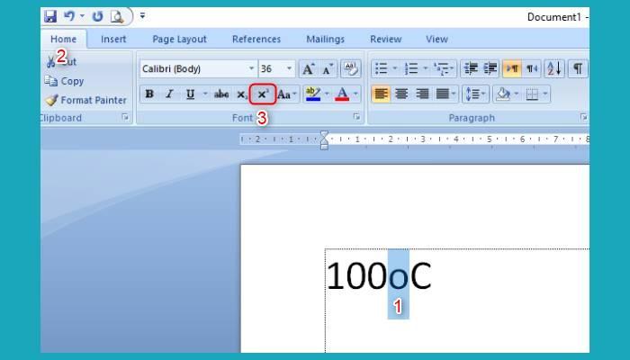 Cara Membuat Simbol Derajat Di Word 2010